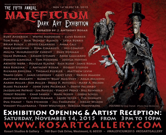 Maleficium Dark Art Exhibition