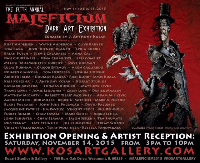 Maleficium Dark Art Exhibition