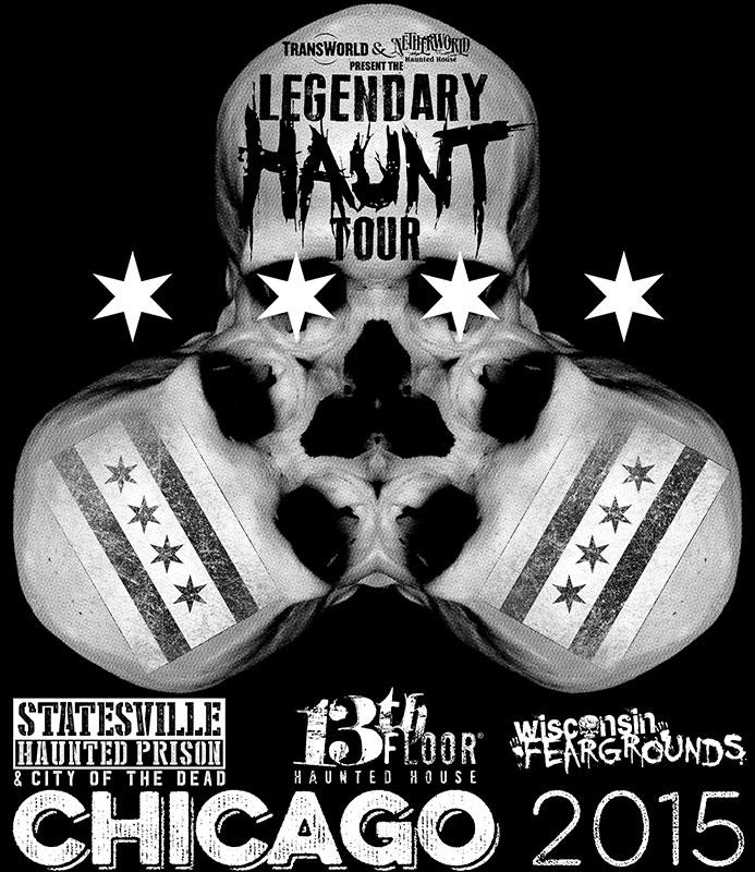 Legendary Haunt Tour 2015 T-Shirt