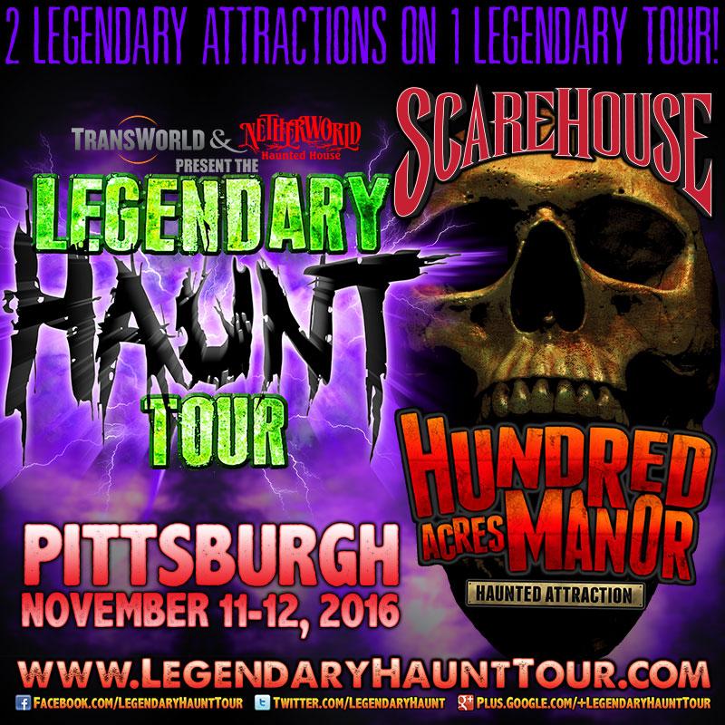 Legendary Haunt Tour 2016