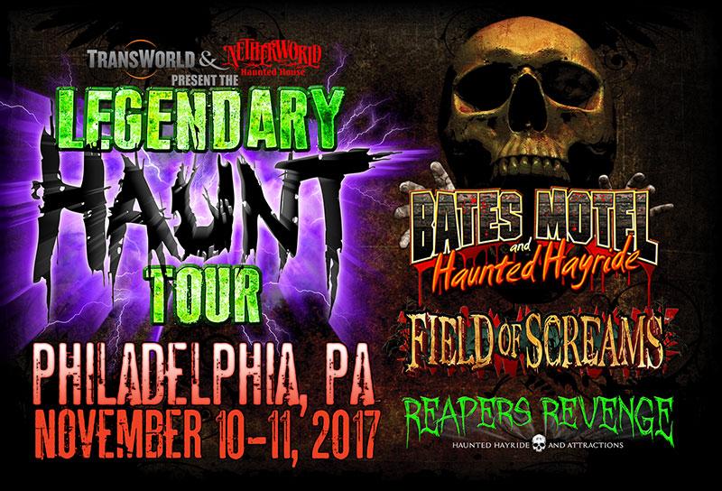 Legendary Haunt Tour 2017