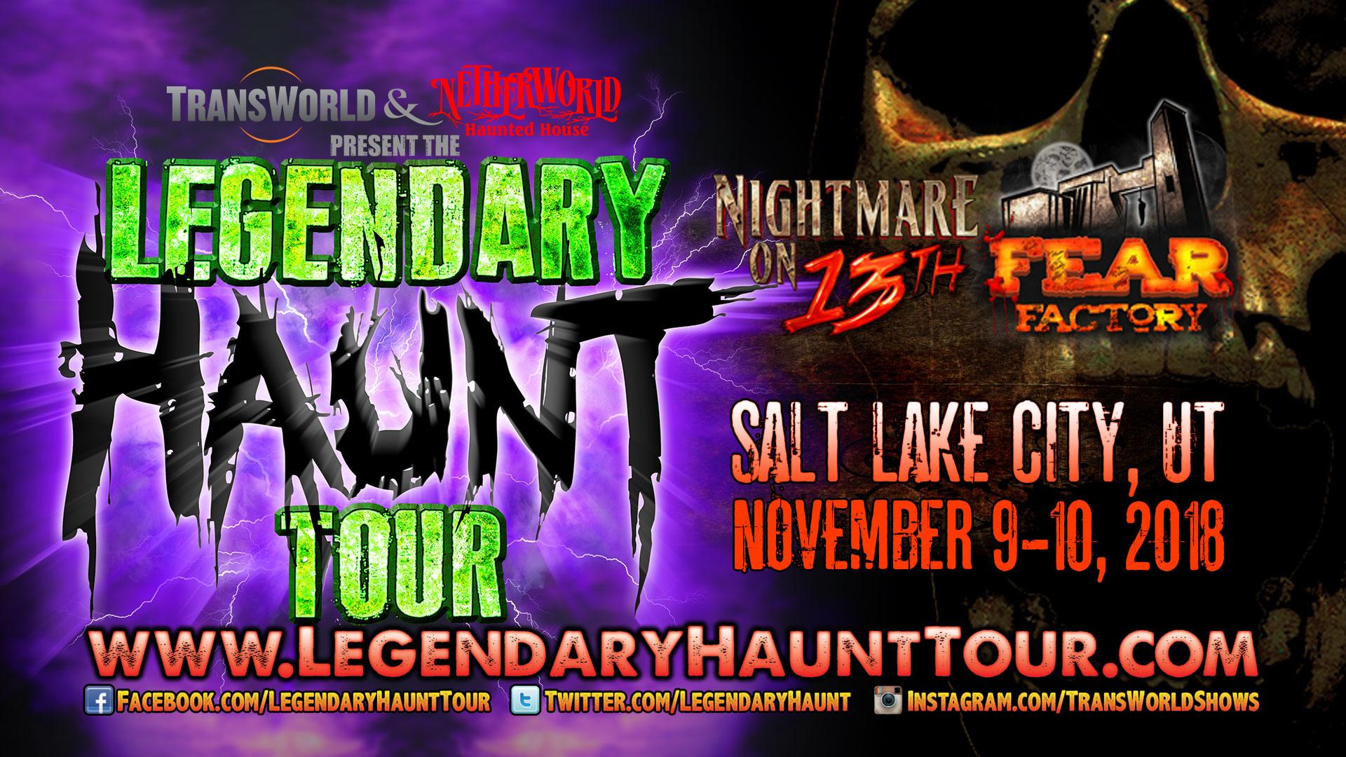 Legendary Haunt Tour 2018