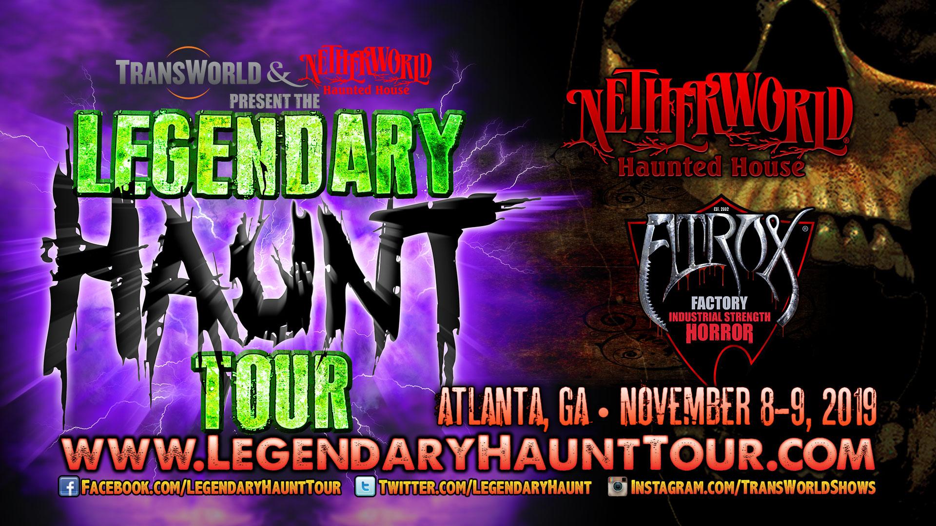 Legendary Haunt Tour 2019